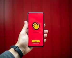 social-app-on-a-phone