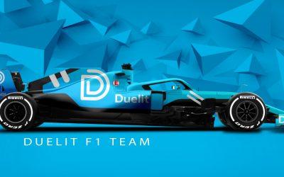 DUELIT SPONSORING A FAMOUS F1 PILOT